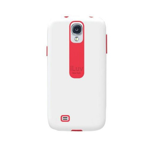 ILUV Flightfit Case for Galaxy S4 - White - Casing Handphone / Case