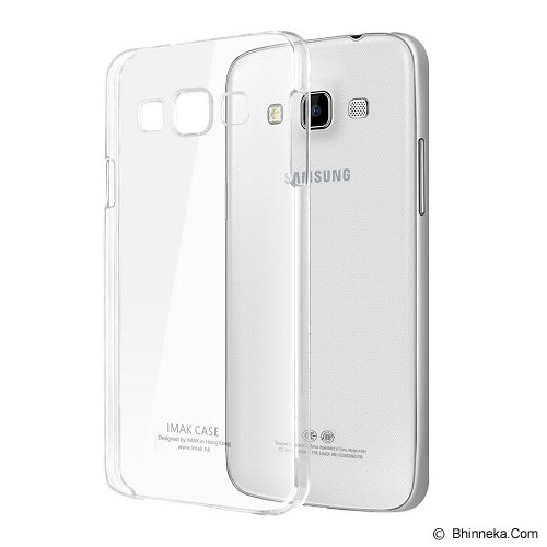 IMAK Cristal Hard Case Transparan Samsung Galaxy A3 - Clear - Casing Handphone / Case