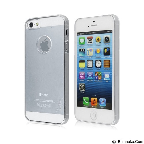 IMAK Crystal II Ultra Thin Hard Case Apple iPhone 5/5s - Clear - Casing Handphone / Case