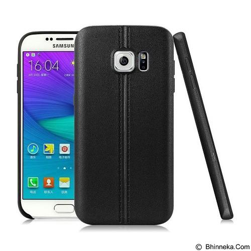 IMAK Vega Leather Back Case Samsung Galaxy S7 - Black - Casing Handphone / Case