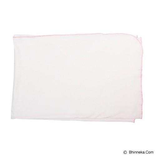 IMOCHI Selimut Bayi [blanket-P-PK] - White Pink - Perlengkapan Tempat Tidur Bayi dan Anak