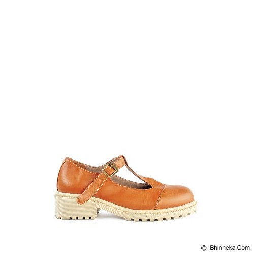 IN HER SHOES Glossy Size 37 - Brown - Wedges Wanita