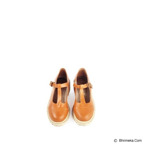IN HER SHOES Glossy Size 38 - Brown - Wedges Wanita