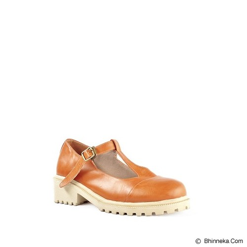 IN HER SHOES Glossy Size 39 - Brown - Wedges Wanita
