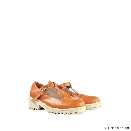 IN HER SHOES Glossy Size 40 - Brown - Wedges Wanita