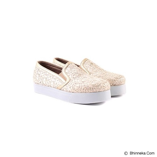 IN HER SHOES Wally Lace Size 37 - Gold - Sneakers Wanita