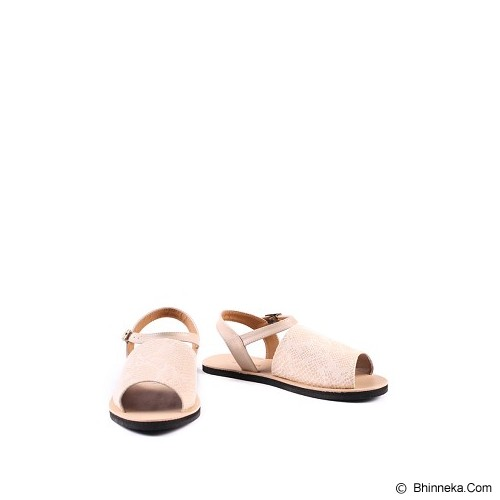 IN HER SHOES Wispy Snake Size 36 - Cream - Sandal Casual Wanita