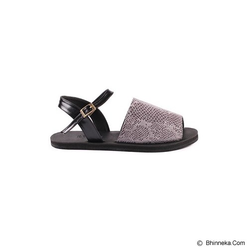 IN HER SHOES Wispy Snake Size 39 - Grey - Sandal Casual Wanita