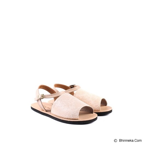 IN HER SHOES Wispy Snake Size 40 - Cream - Sandal Casual Wanita
