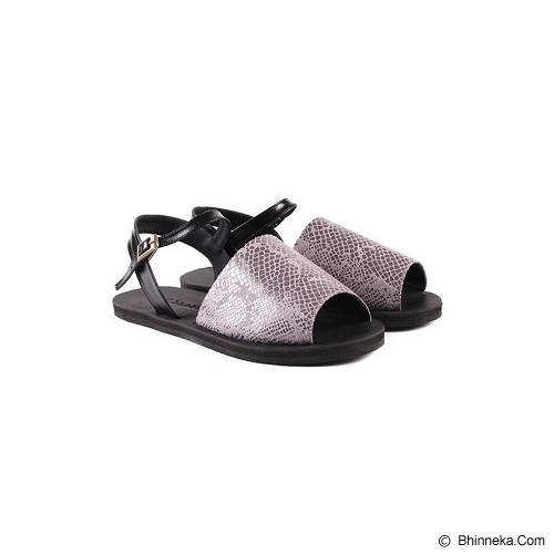 IN HER SHOES Wispy Snake Size 40 - Grey - Sandal Casual Wanita
