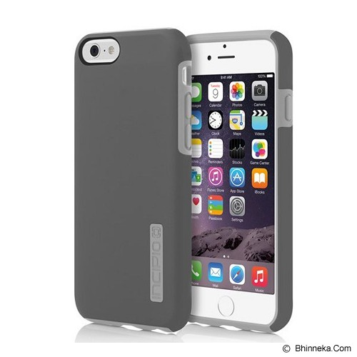 INCIPIO Dual Pro Series for iPhone 6 - Gray - Casing Handphone / Case