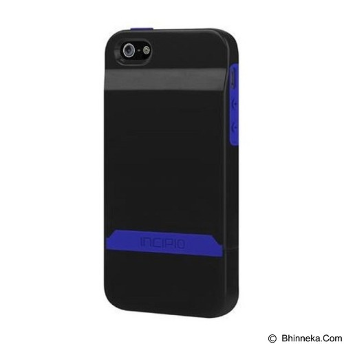 INCIPIO Stashback iPhone 5 - Blue Black (Merchant) - Casing Handphone / Case