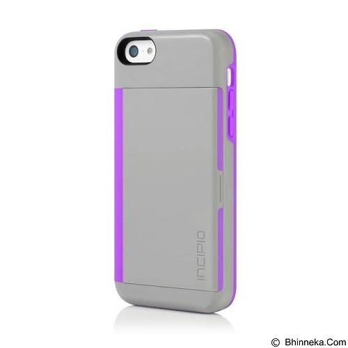 INCIPIO Stowaway for Apple iPhone 5C - Gray Purple (Merchant) - Casing Handphone / Case