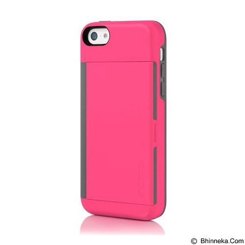 INCIPIO Stowaway for Apple iPhone 5C - Pink Gray (Merchant) - Casing Handphone / Case
