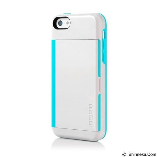 INCIPIO Stowaway for Apple iPhone 5C - White Aqua (Merchant) - Casing Handphone / Case
