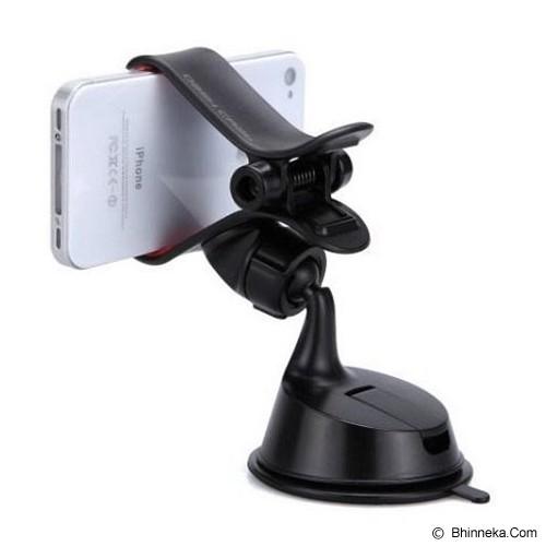 INDO.DEALZ Car Holder Single Clamp for Handphone GPS - Black - Gadget Mounting / Bracket