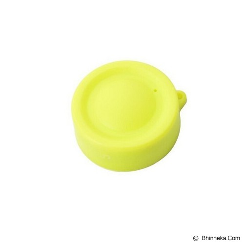 INDO.DEALZ Lens Cap Cover - Yellow - Camera Lens Cap, Hood and Collar