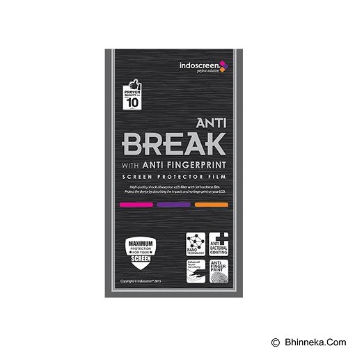 ANTI BREAK Screen Protector Anti Fingerprint for Oppo Mirror 3 [ISAB-49] - Clear - Screen Protector Handphone