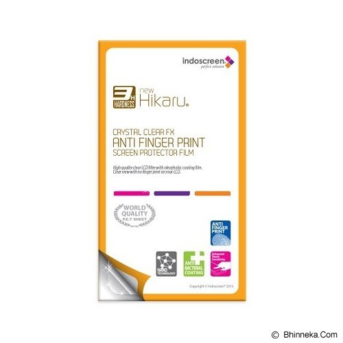 INDOSCREEN Anti Finger Print Screen Protector Asus Zenfone GO 4.5 - Screen Protector Handphone