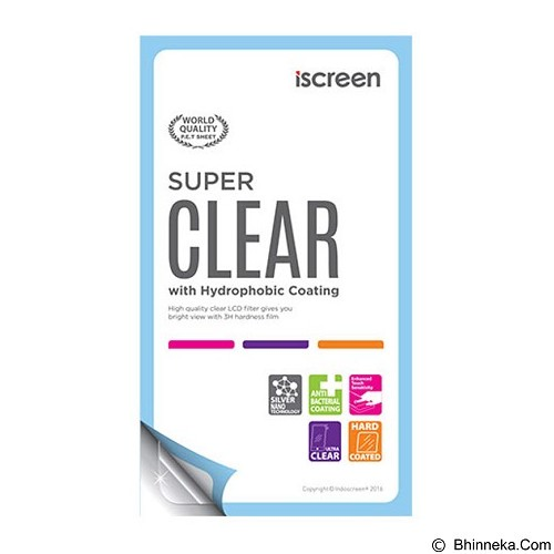 INDOSCREEN iScreen Anti Gores Samsung Galaxy J2 Prime - Clear (Merchant) - Screen Protector Handphone