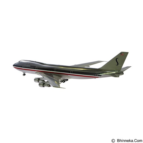 INFLIGHT Miniatur Pesawat 200 Airport 77 Movie Stevens Corporation B747 100 [IF-747-1977-P] (Merchant) - Die Cast