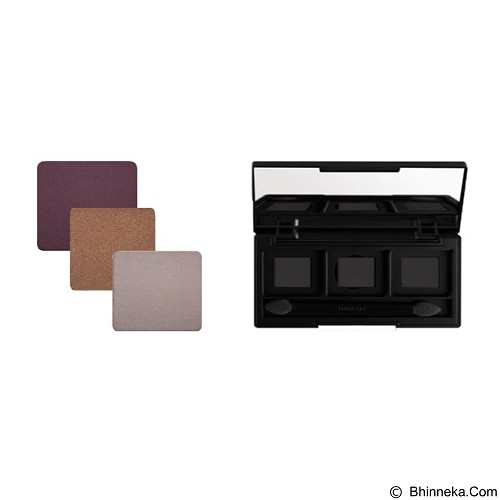 INGLOT 3 Eyeshadow free Palette J (Merchant) - Eye Shadow