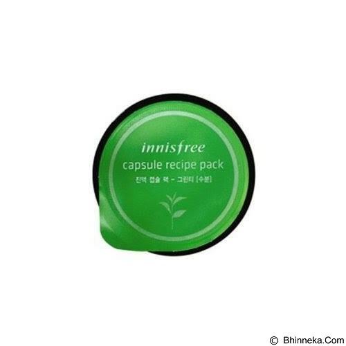 INNISFREE Capsule Recipe Pack / mini pack Green Tea moisturizing (Merchant) - Krim / Pelembab Wajah