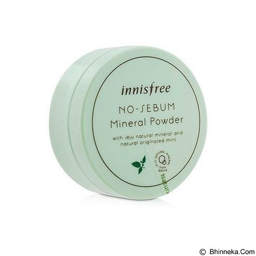 INNISFREE No Sebum Mineral Powder 5 g (Merchant) - Krim / Pelembab Wajah