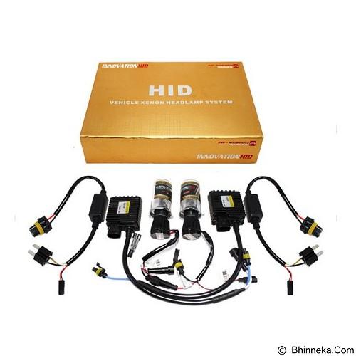 INNOVATION HID Hivision 6000K Single [HI/LO-H4] (Merchant) - Lampu Mobil