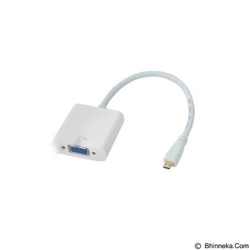 INSPIRE COMPUTER Micro HDMI to VGA Adapter (Merchant) - Cable / Connector Vga