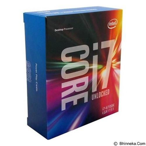 INTEL Processor Core [i7-6700] (Merchant) - Processor Intel Core I7