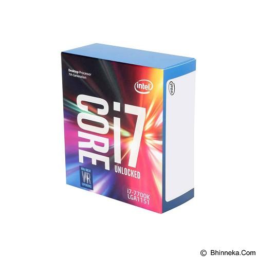 INTEL Processor Socket 1151 Core [i7-7700K] Box (Merchant) - Processor Intel Core I7