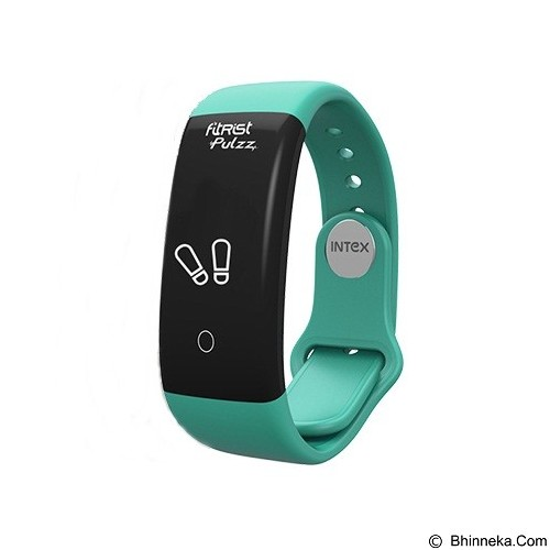 INTEX Smart Band FitRist Pulzz  - Turquoise (Merchant) - Smart Watches