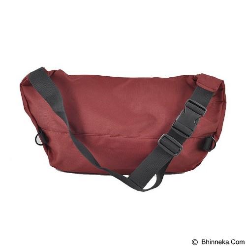 INVICTUS Waist Bag - Maroon - Sling-Bag Pria