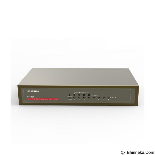 IP-COM PoE Switch [F1008P] - Switch Unmanaged