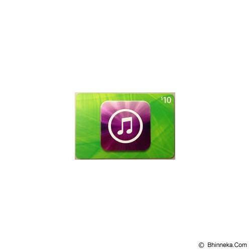 APPLE iTunes Gift Card 10$ Digital Code - Voucher Games