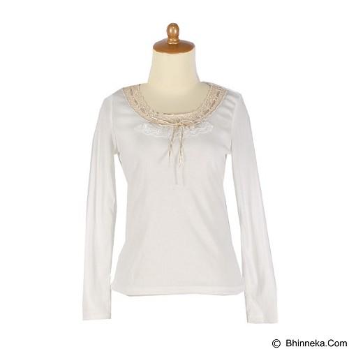 IYESH Atasan [IYBF0025 - 0025] - White (Merchant) - Blouse dan Tunik Wanita