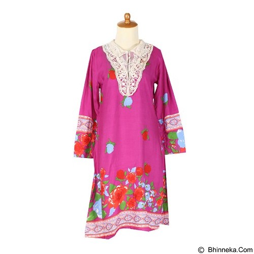 IYESH Dress [HEMG848A - 8848A] - Purple (Merchant) - Midi Dress Wanita