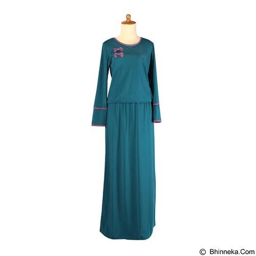 IYESH Gamis [IYMG3349- 3349] - Blue (Merchant) - Gamis Wanita