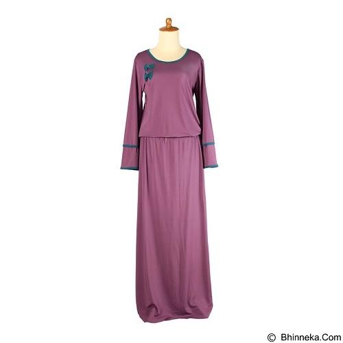 IYESH Gamis [IYMG3349- 3349] - Purple (Merchant) - Gamis Wanita
