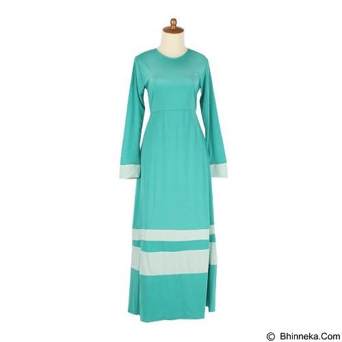 IYESH Maxi Afifah Bergo [IYNK0007 - 0007] - Green (Merchant) - Gamis Wanita