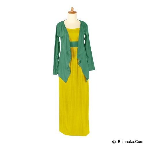 IYESH Maxi Audrey [HENK0022 - 0022] - Yellow (Merchant) - Gamis Wanita
