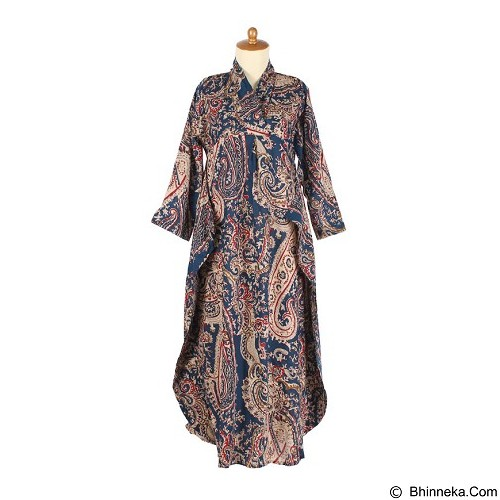 IYESH Maxi Batik [HEMG8887 - 8887] - Blue(Merchant) - Maxi Dress Wanita