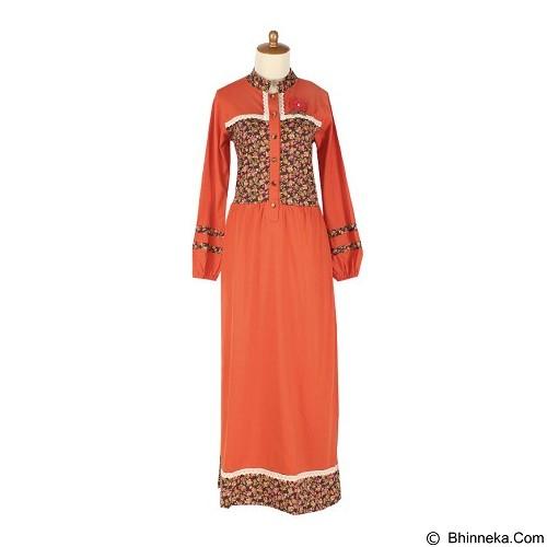 IYESH Maxi Dress [HENO0618 - 10618] - Orange (Merchant) - Maxi Dress Wanita