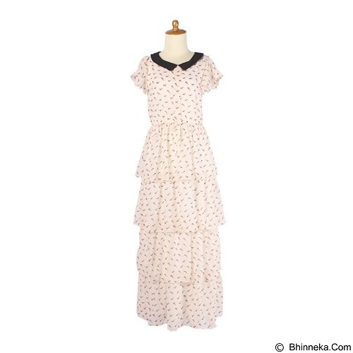 IYESH Maxi Dress Wanita [HEDB0358 - 290358] - White (Merchant) - Maxi Dress Wanita