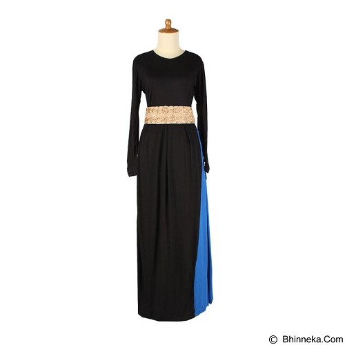 IYESH Maxi Dubai [HENK0001-0001] - Blue (Merchant) - Gamis Wanita