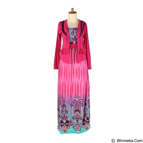 IYESH Maxi Gradasi [SUMI0052 - M52] - Blue (Merchant) - Maxi Dress Wanita
