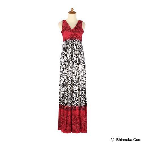IYESH Maxi [HEDB2676 - 72676] - Red (Merchant) - Maxi Dress Wanita