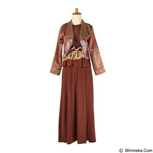 IYESH Maxi [HEDU0923 - 90923] - Dark Brown (Merchant) - Gamis Wanita