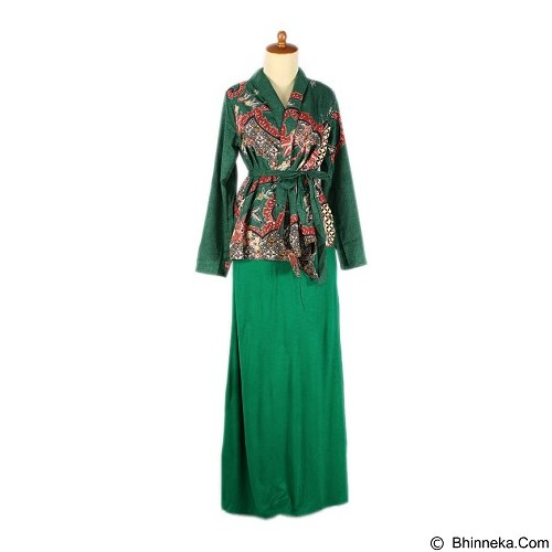 IYESH Maxi [HEIN5384 - 5384] - Green (Merchant) - Maxi Dress Wanita
